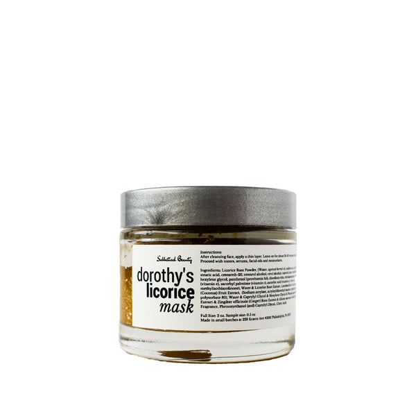 Dorothy's Licorice Root Brightening Mask