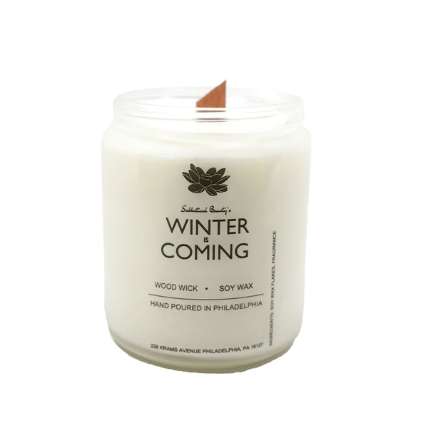 Winter is Coming Candle