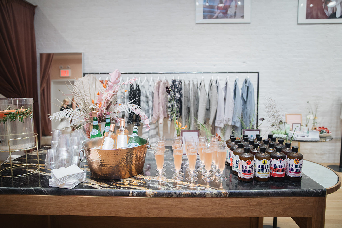 Petite Studio NYC Fall Launch Party Food and Drinks