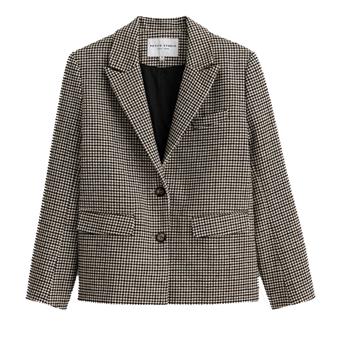 Bennet Wool Plaid Jacket