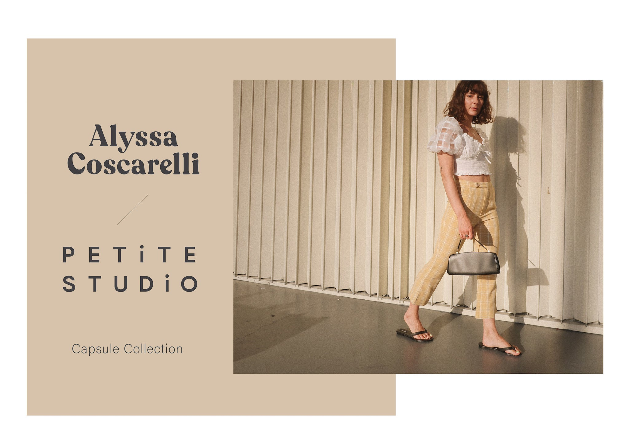 Alyssa Coscarelli x Petite Studio Collection