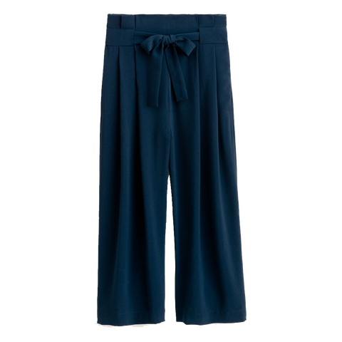 Fuschia Pants - Navy