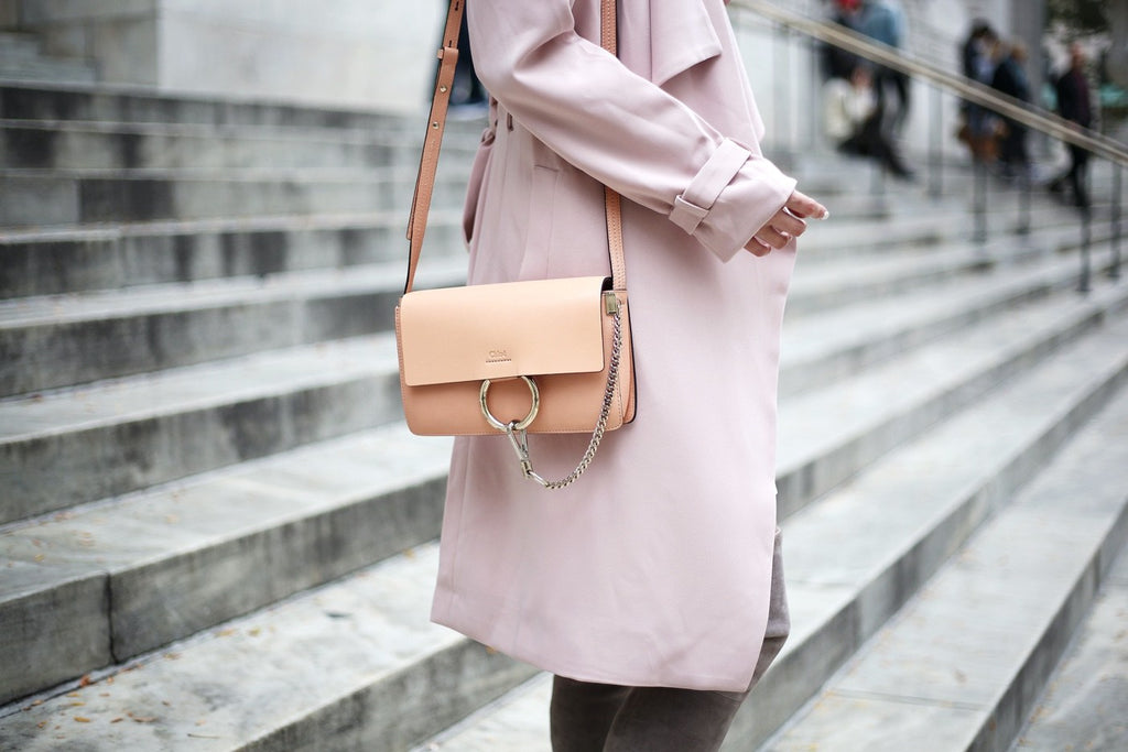Petite Studio Pink Trench Coat - When In Doubt Blog 3