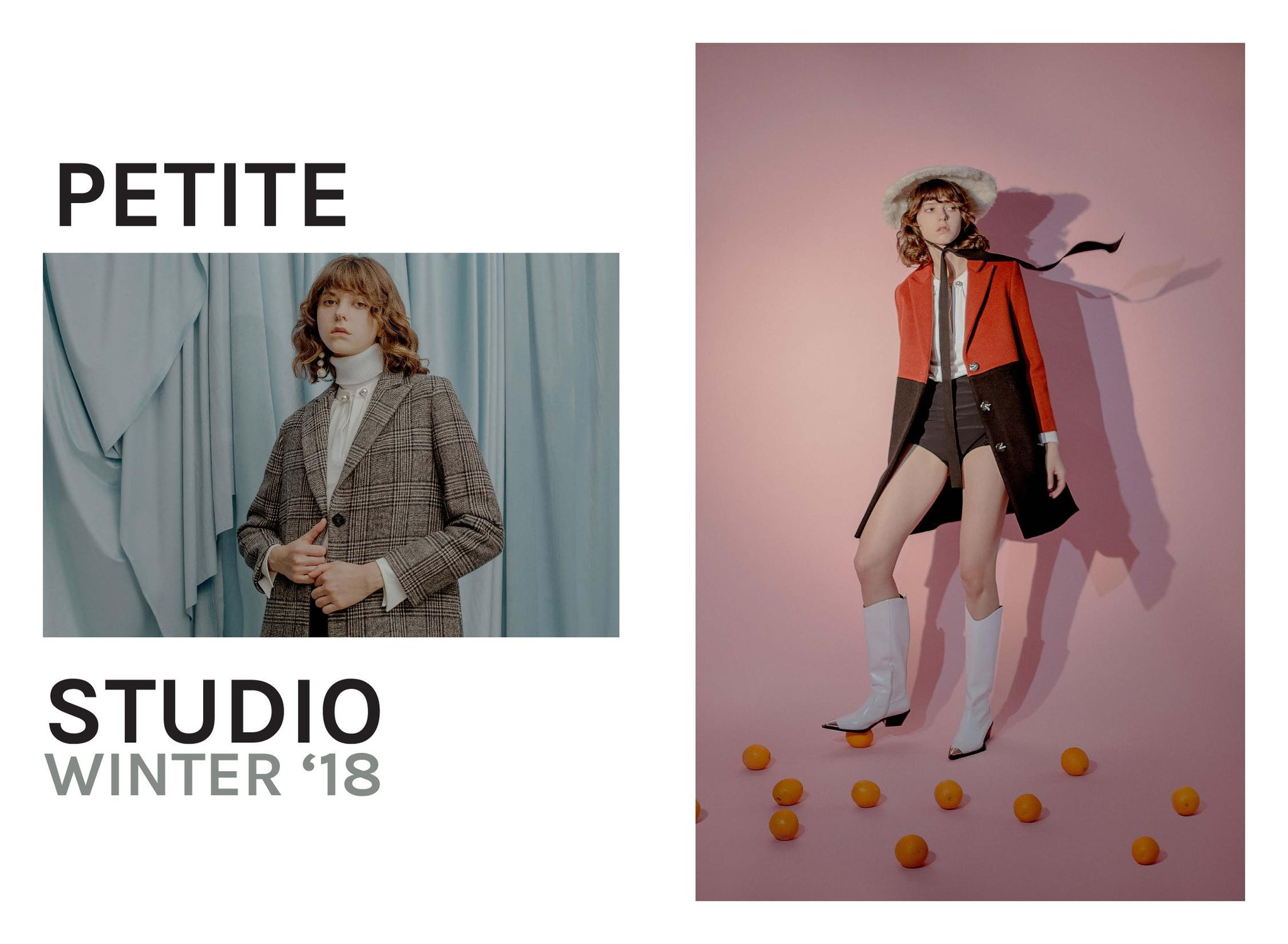 Petite Studio | Winter 18 Lookbok