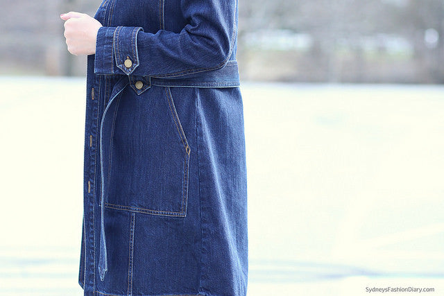 sydneysfashiondiary - denim trench white jeans2