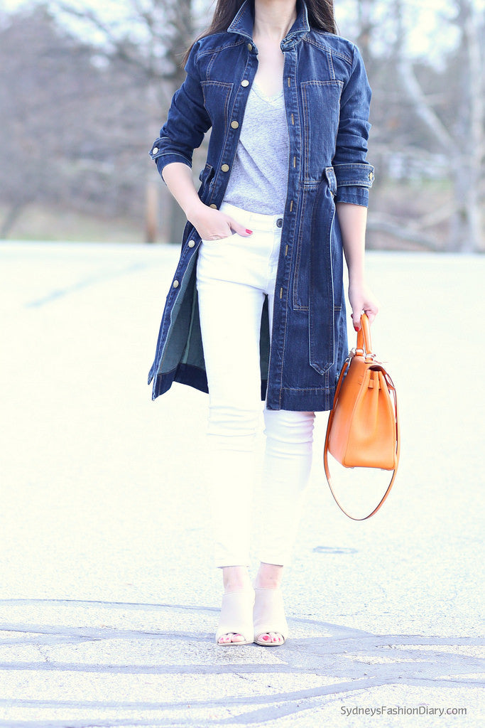 sydneysfashiondiary - denim trench white jeans3