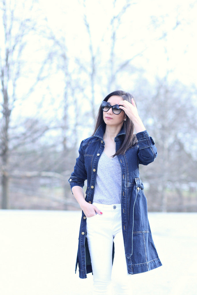 sydneysfashiondiary - denim trench white jeans7