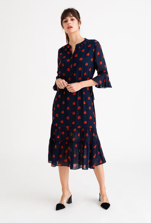 Celina Dress-Cherry Print-dresses-Petite Studio