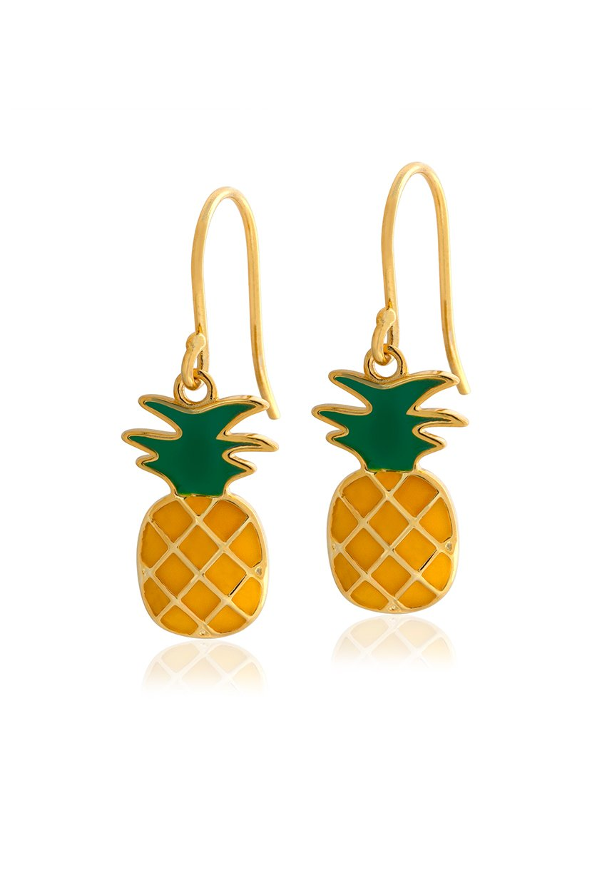 LE|J Pineapple Drop Earrings - Petite Studio NYC - Jewelry Collection