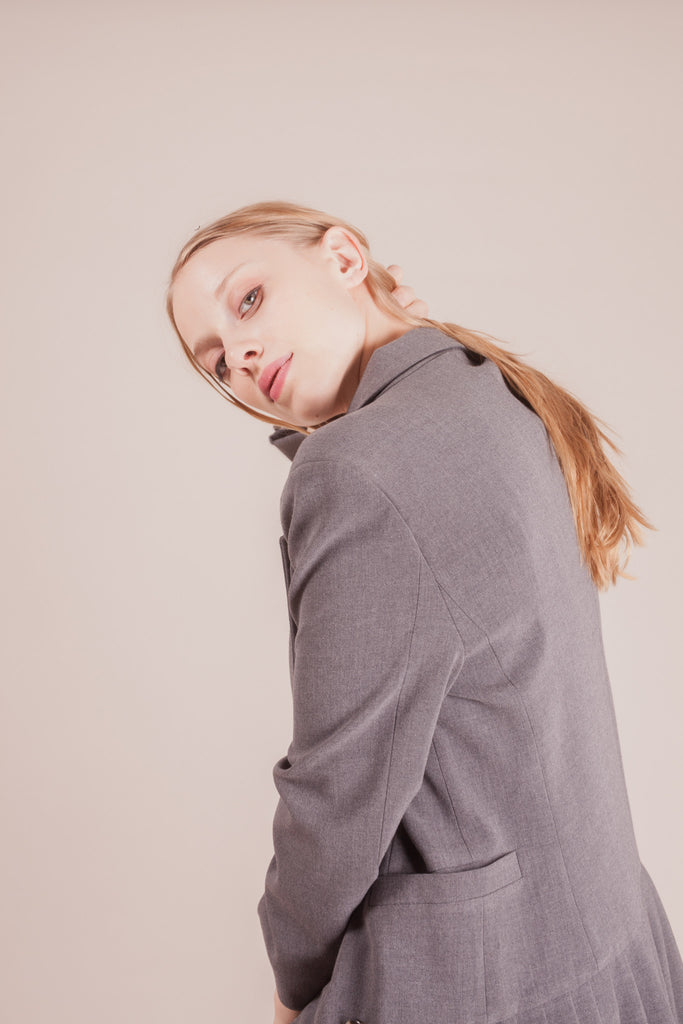 Chester Grey Blazer | Petite Studio-petite clothing & outerwear