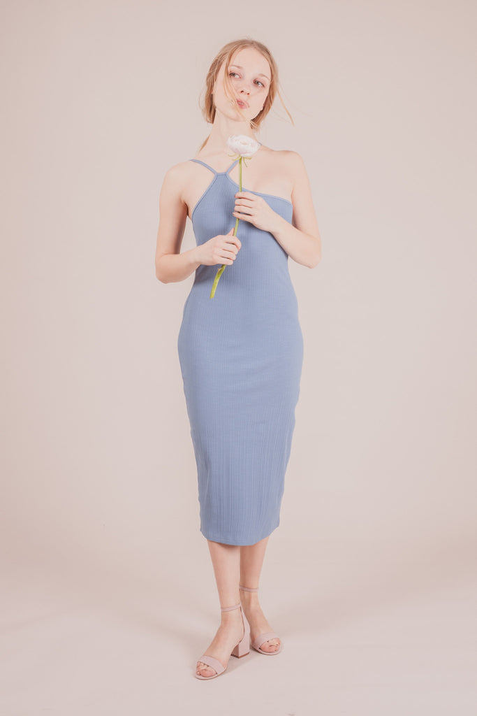 Fay Blue Dress | Petite Studio-petite clothing & bottoms