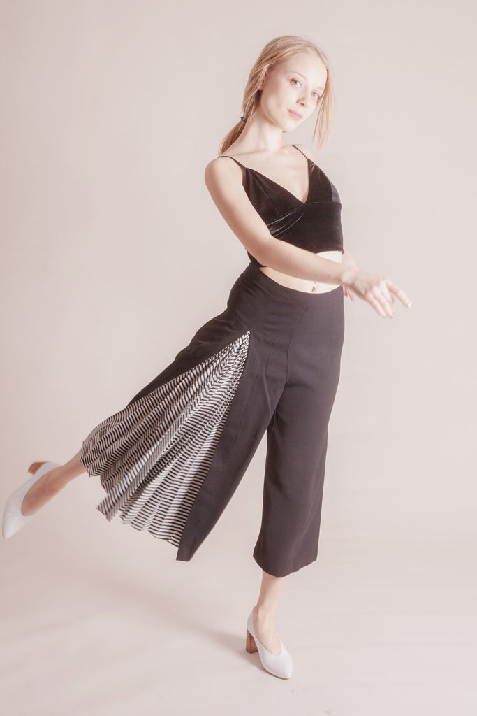 Forsyth Pleated Pants | Petite Studio-petite clothing & bottoms