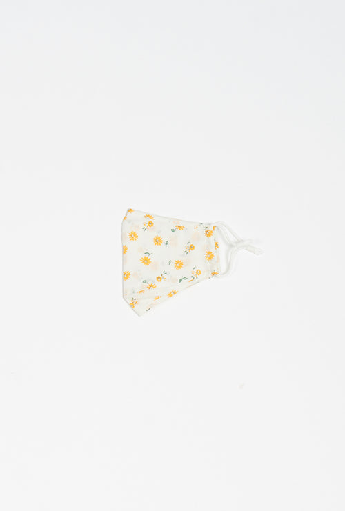 1X Cotton Mask - Daisy Print