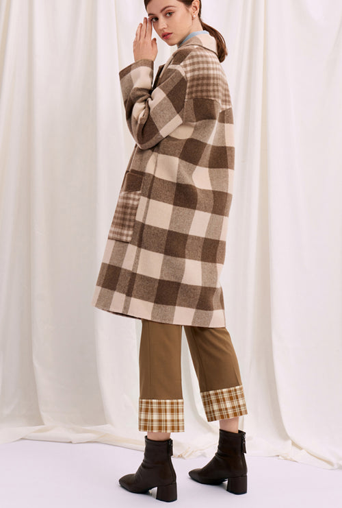 Memphis Coat - Chocolate Plaid
