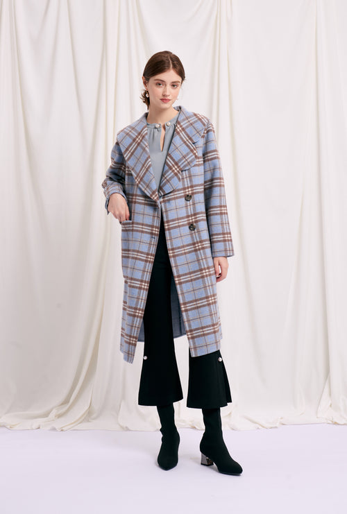 women's winter coats-long coat-petite fashion-petite girls-Winter 2020-Rachel Wool Coat - Camel-Petite Studio NYC