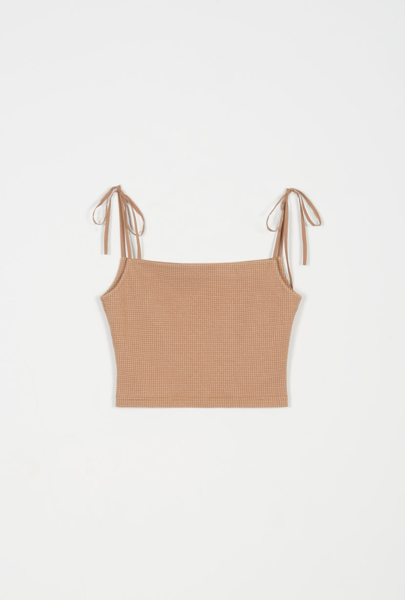tank top-square neck tank-petite fashion-petite girls-Spring 2021-Arlo Top - Beige-Petite Studio NYC