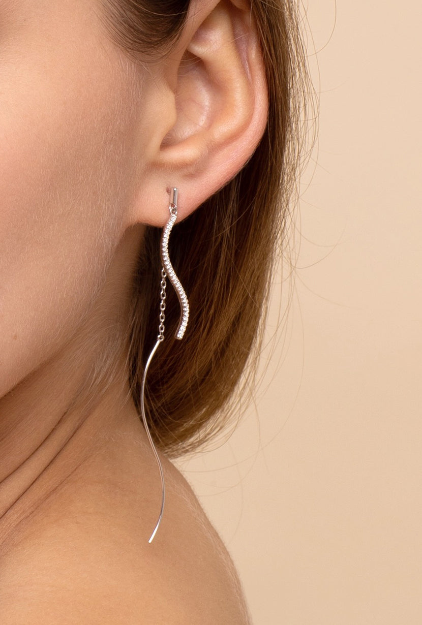 LE|J Waving Earrings - Petite Studio NYC - Jewelry Collection