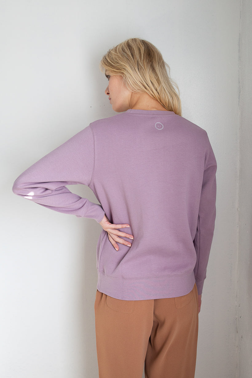 hoodie-sweatshirt-petite fashion-petite girls- Sweatshirt - small but mighty - Lilac -Petite Studio NYC