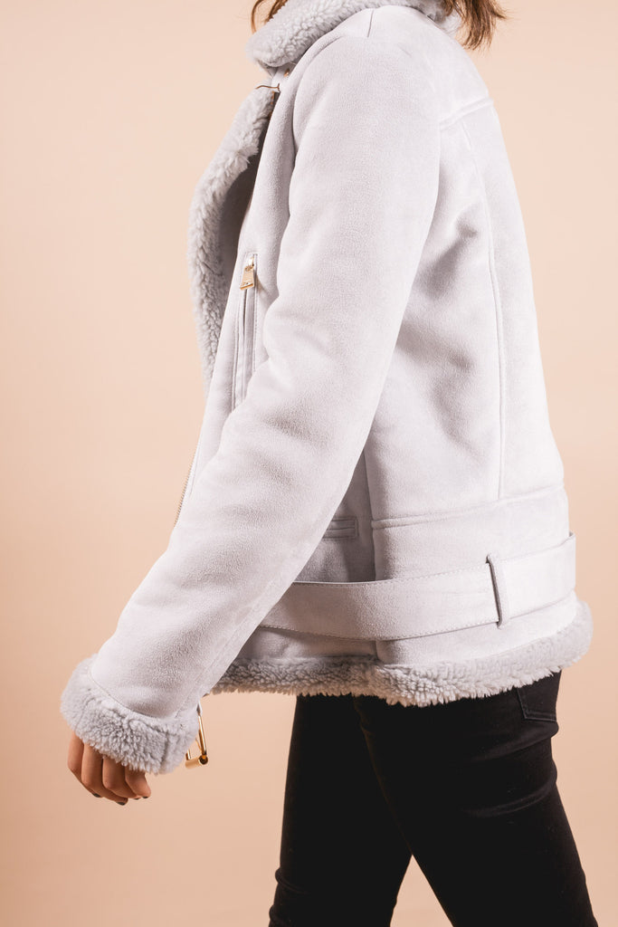 Irving Suede Jacket-outerwear-Petite Studio