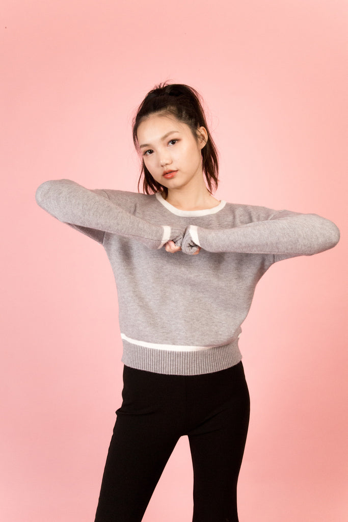 By Chloe Grey Sweater | Petite Studio-petite clothing & tops