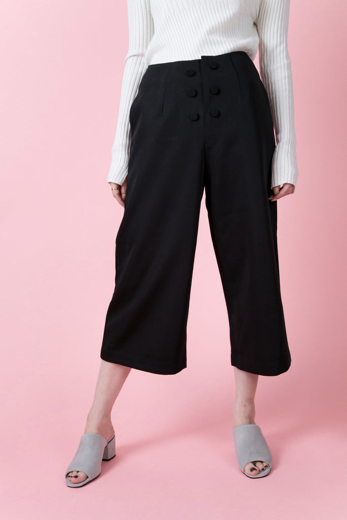 Chelsea Wide Leg Pants | Petite Studio-petite clothing & pants