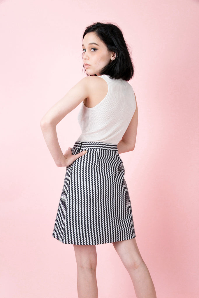 Crosby Wave Skirt | Petite Studio-petite clothing & skirt