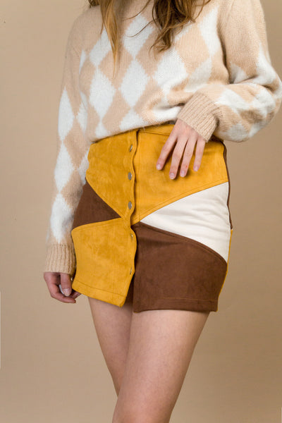 Forest Suede Skirt | Petite Studio-petite clothing & bottoms