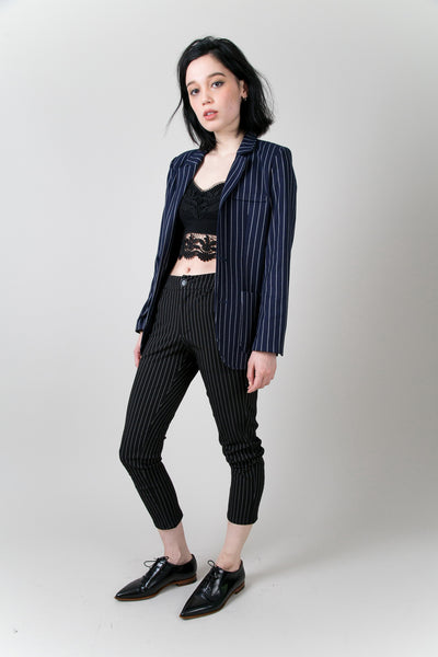 Gramercy Striped Blazer | Petite Studio-petite clothing & coats