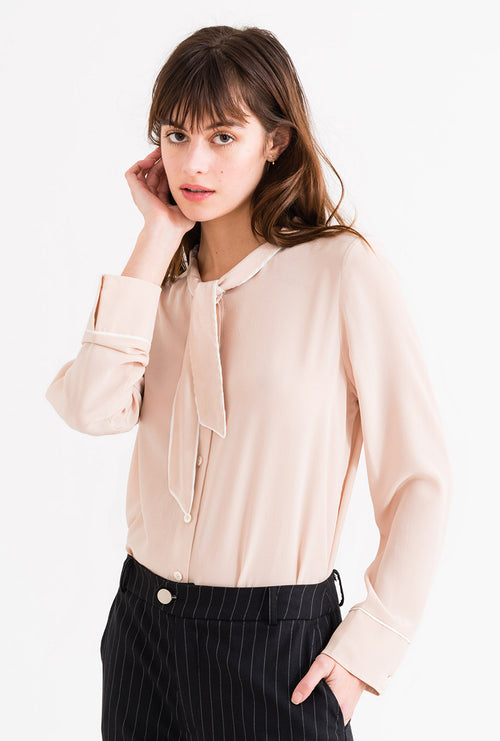 Charlotte Top - Blush-tops-Petite Studio