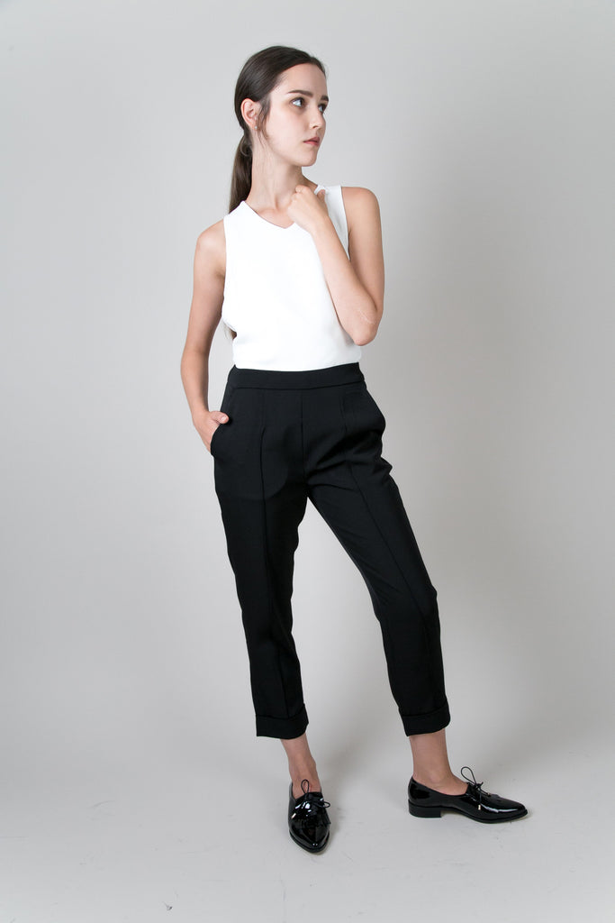 Highline Above Ankle Pants | Petite Studio-petite clothing & pants