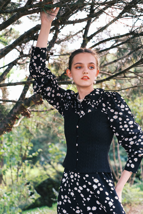 black blouse-chiffon blouse-petite fashion-petite girls-Fall 2020-Arden Top - Black-Petite Studio NYC