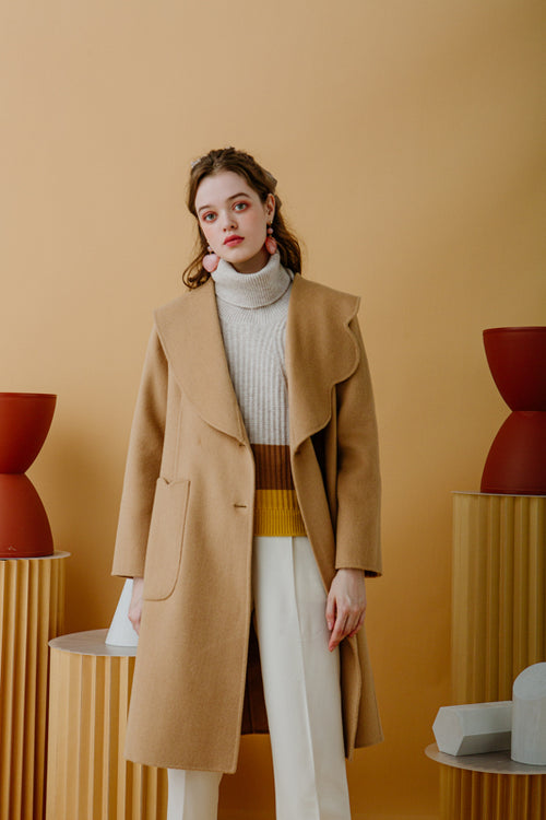 women's winter coats-camel coat-petite fashion-petite girls-Winter 2020-Rachel Wool Coat - Camel-Petite Studio NYC