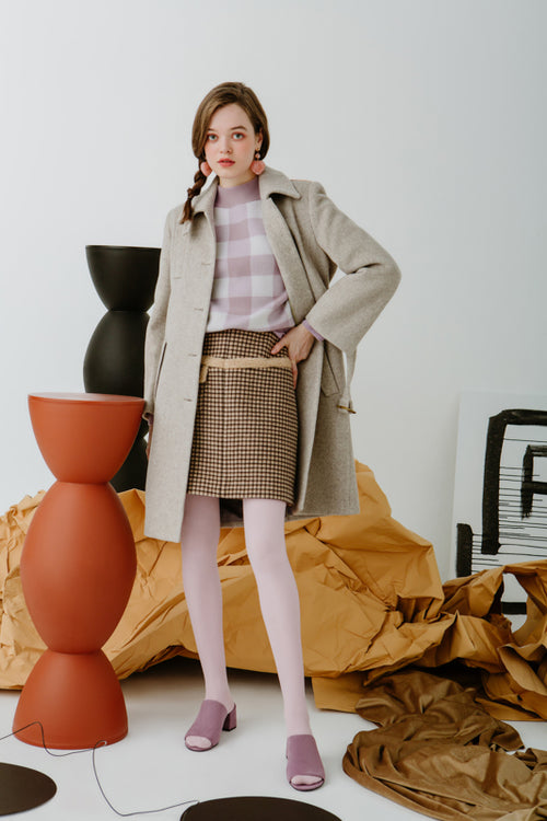 women's winter coats-white coat-petite fashion-petite girls-Winter 2020-Nina Wool Coat - Oatmeal-Petite Studio NYC