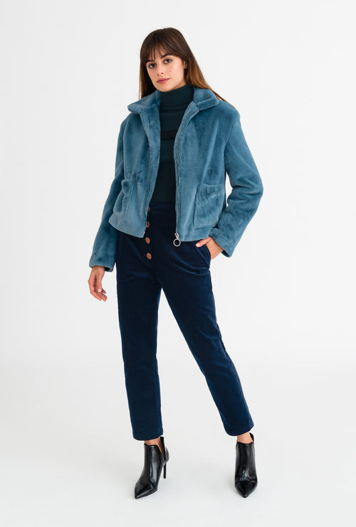 Blair Crop Jacket-outerwear-Petite Studio