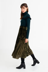 Vienna Midi Skirt-bottoms-Petite Studio