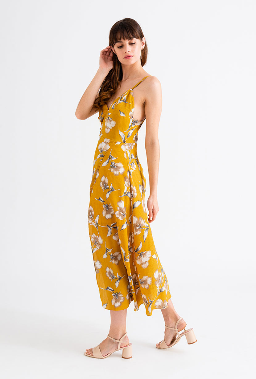 Carly Dress - Mustard | Petite Studio