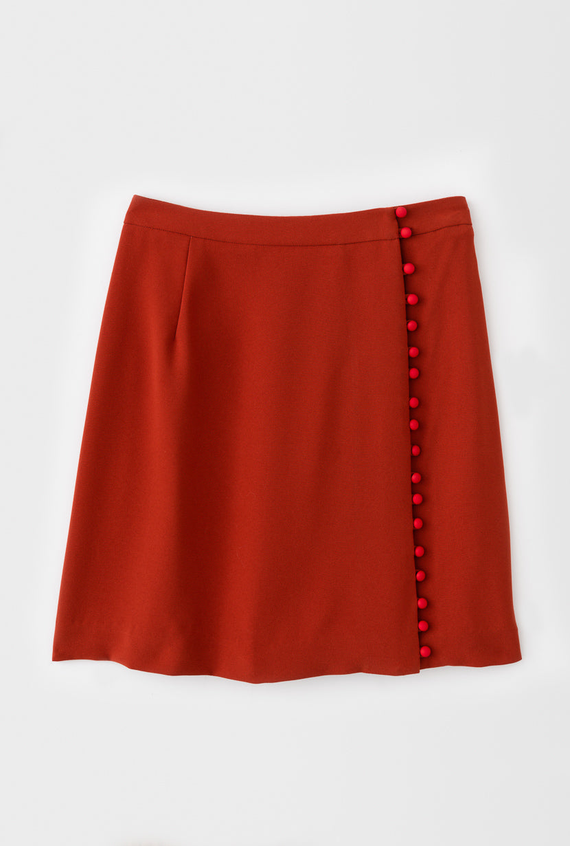 Raven Skirt-bottoms-Petite Studio
