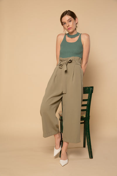 Fuschia Pants - Green | Petite Studio-petite clothing & bottoms
