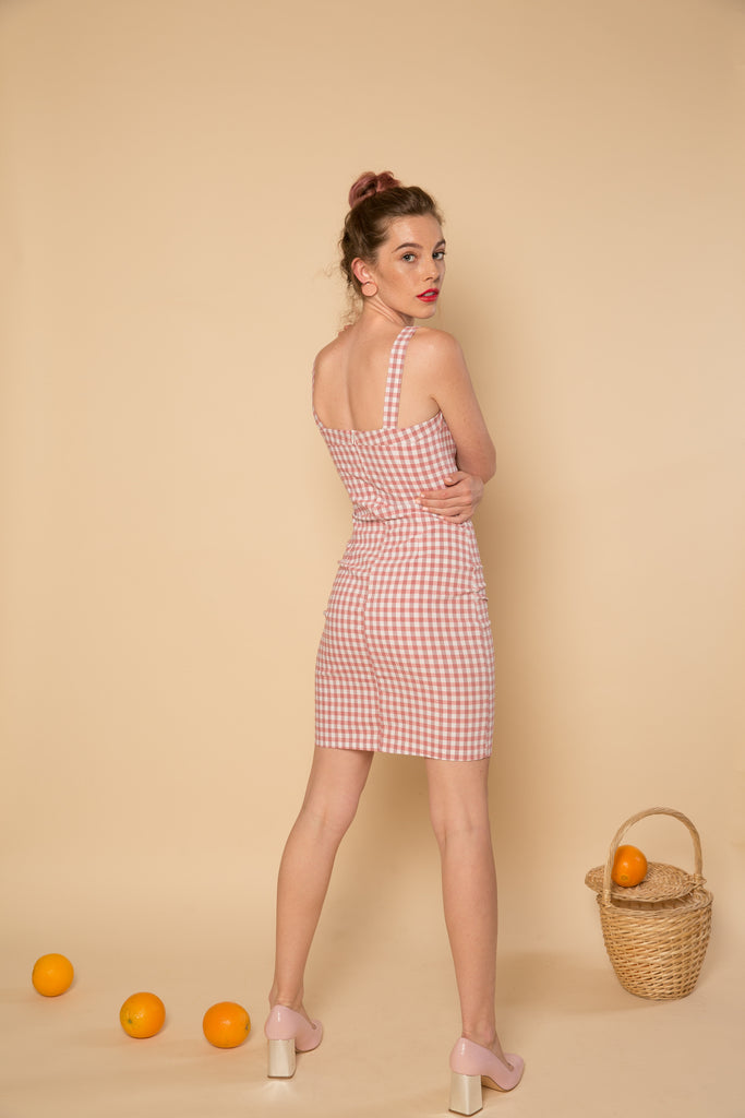 Poppy Dress - Pink | Petite Studio-petite clothing & dresses
