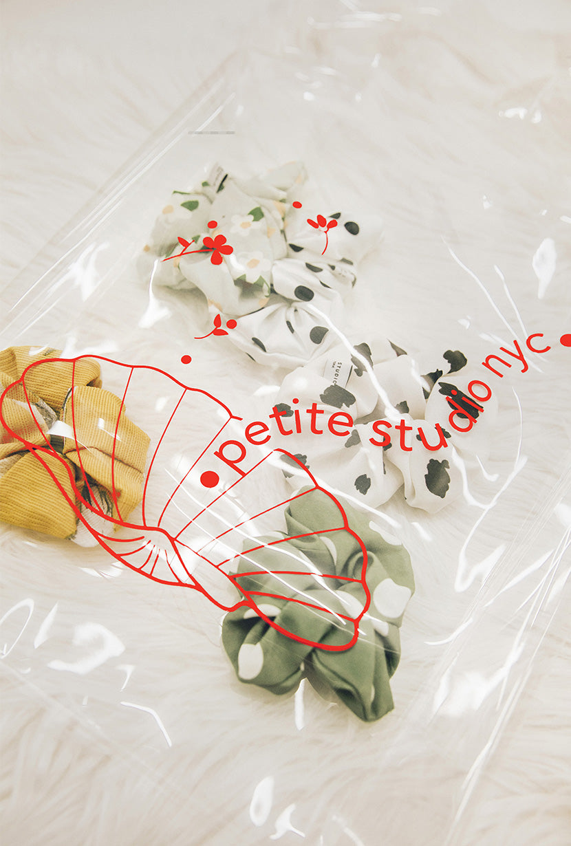Petite Studio NYC - Clear PVC Bag