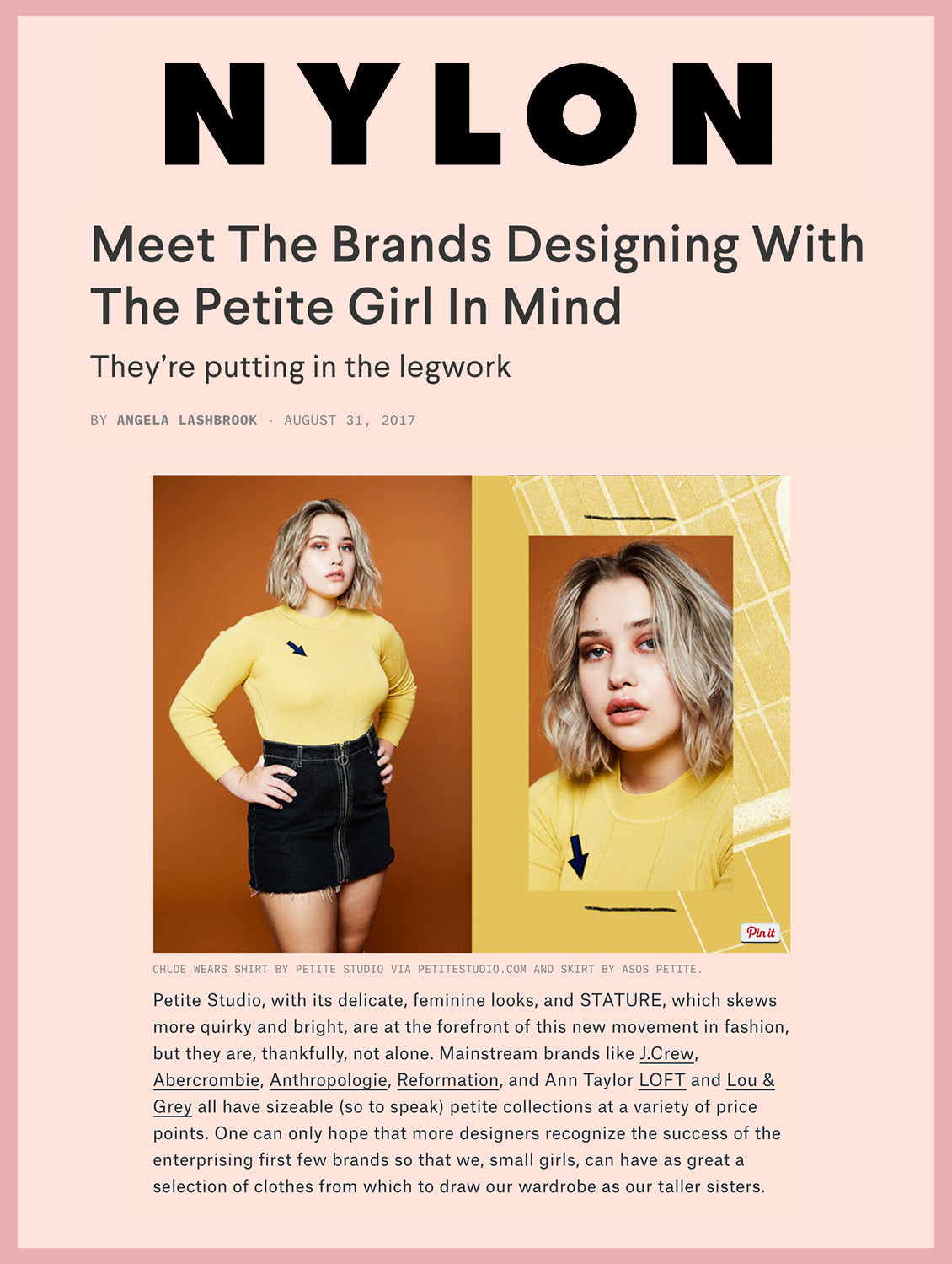 Meet the Brands Designing With The Petite Girls In Mind