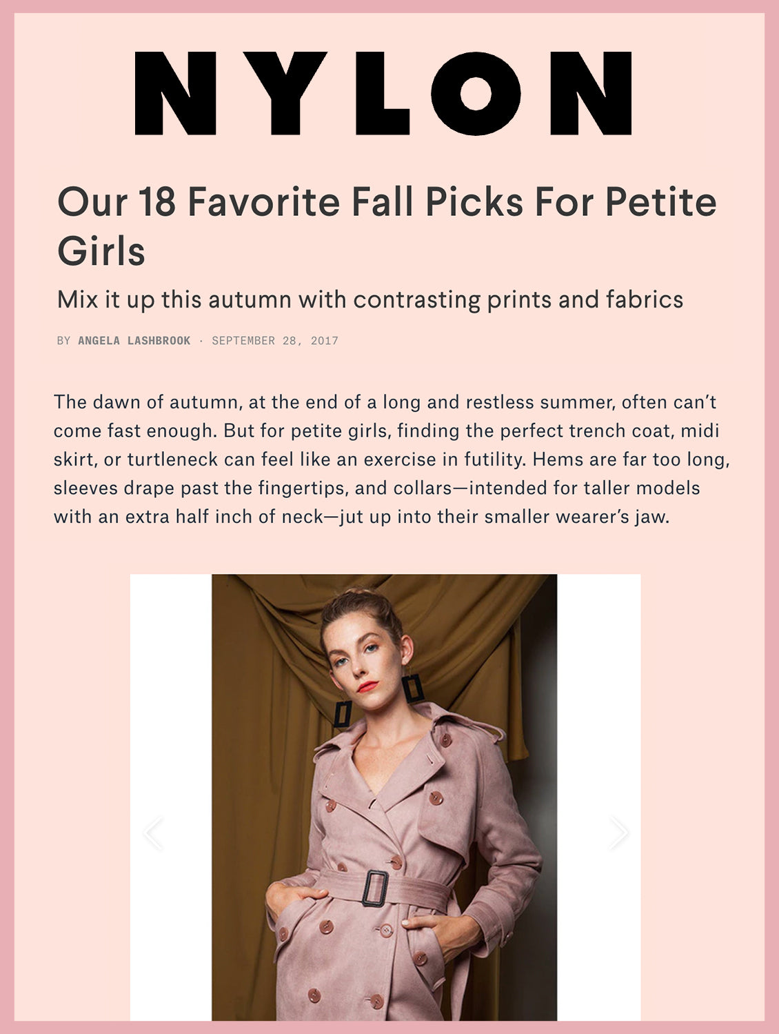 Our 18 Favorite Fall Picks For Petite Girls