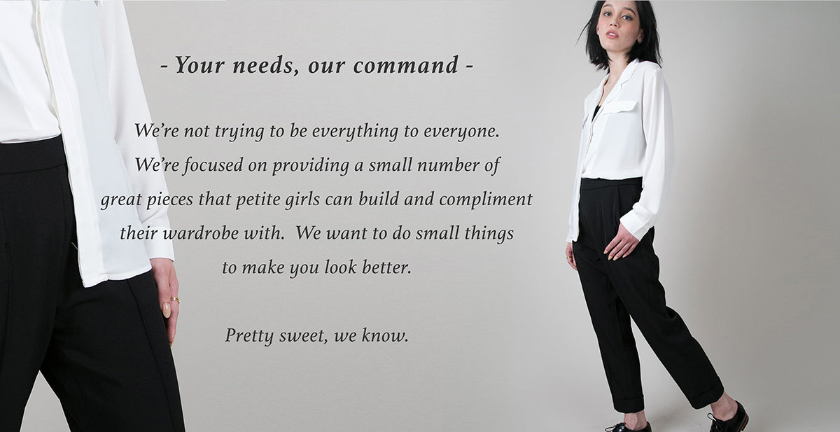 Petite Studio provides great pieces for petite girls to compliment their wardrobe with