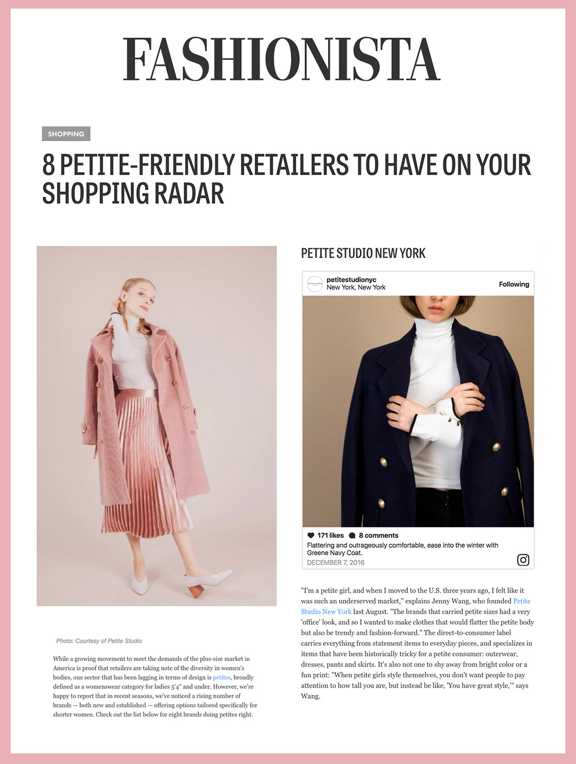 8 Petite-Friendly Retailers to have on your shopping radar