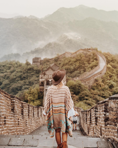 gypsea_lust explores great wall of China