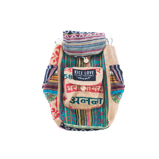 Recycled Travel Backpack - Kochi - Mini