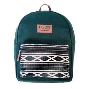 Eco-Canvas Backpack - Army Green