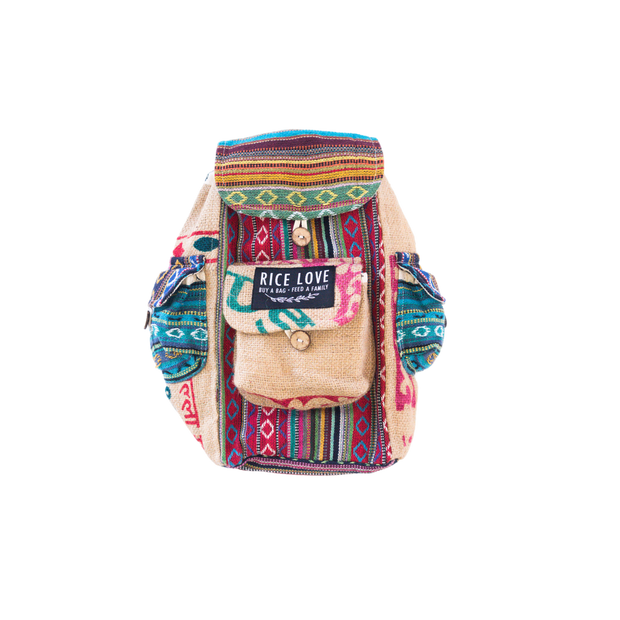Recycled Travel Backpack - Jaipur - Mini