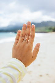 Ring - Sterling Silver - Wave of Change