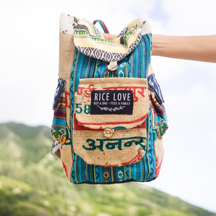 Recycled Travel Backpack - Goa - Mini